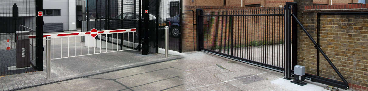 Commercial automatic gates and barriers